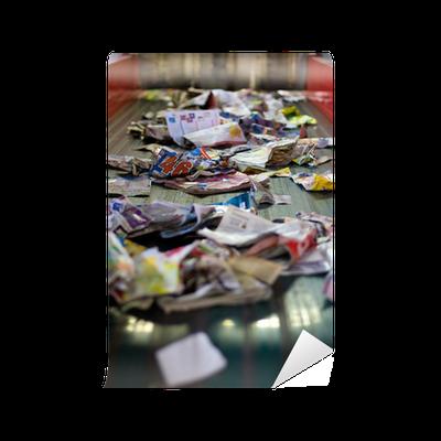 papier peint recycler papier journaux environnement d chet tri recyclage pixers nous vivons. Black Bedroom Furniture Sets. Home Design Ideas