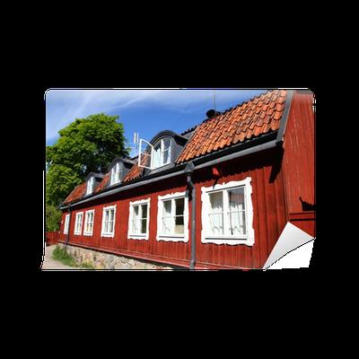 Papier peint su de s dermalm vieille architecture for Architecture nordique