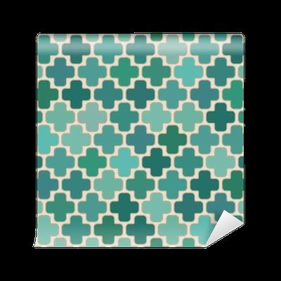 papier peint transparente islamique motif g om trique croix pixers nous vivons pour changer. Black Bedroom Furniture Sets. Home Design Ideas