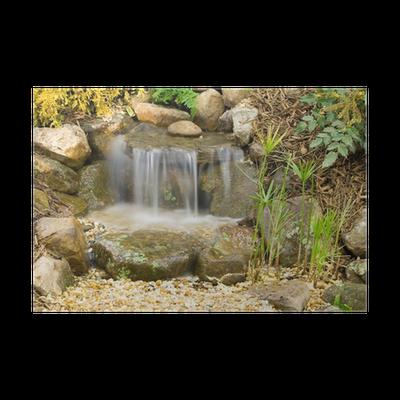 Plakat Małe Wodospady Ogrodowe Pixers żyjemy By Zmieniać