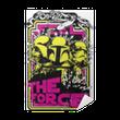 Plakat samoprzylepny Siła