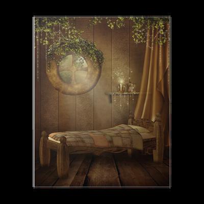 Poster Camera da letto retrò per bambini • Pixers® - Viviamo per il  cambiamento