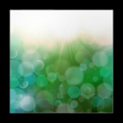 Poster Dark Green Blue Abstract Background Airmar 3 Licht Bokeh Pixers Wir Leben Um Zu Verandern