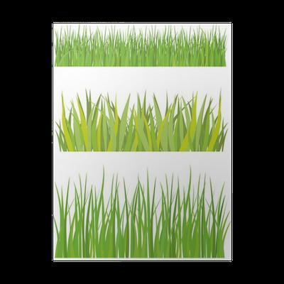 Poster rasen und gras pixers wir leben um zu ver ndern - Fliesenaufkleber gras ...