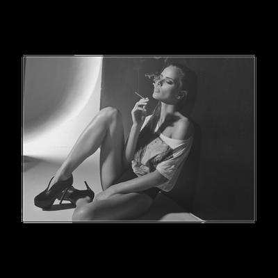 Rauchen Sexy Zigaretten Frauen Ist Rauchen