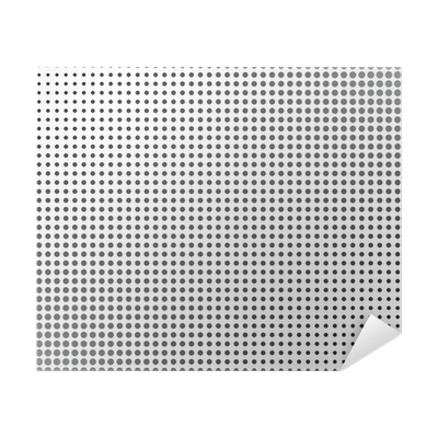 Gray Halftone Dots Poster • Pixers® - We live to change