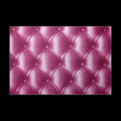 Poster rose cerise cuir de peau de papier peint - Papier peint imitation cuir ...