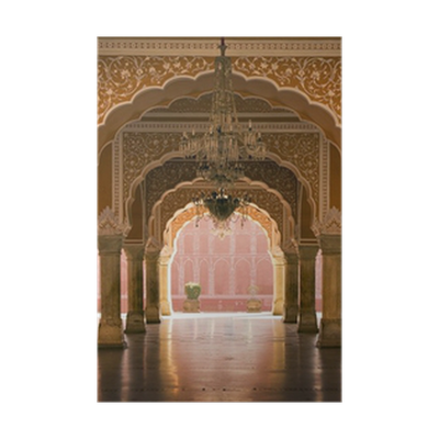 Royal Interior In Jaipur Palace India Poster Pixers