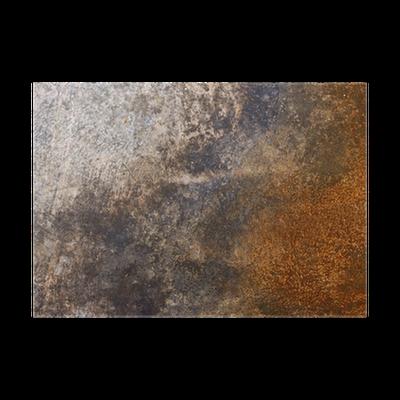 Rusty metal texture Poster • Pixers® - We live to change