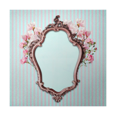 Shabby Chic Background With Antique Frame Poster O PixersR We Live To Change