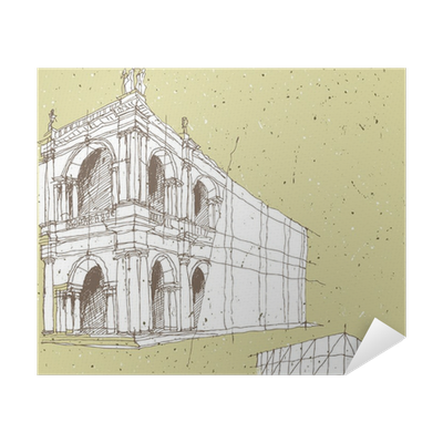Sketching Historical Architecture In Italy Poster Pixers We Live To Change