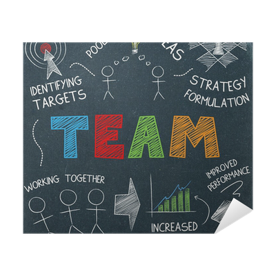Team Sketch Notes Graphic Teamwork Ideas Collaboration Poster Pixers We Live To Change