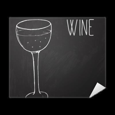 Poster Un verre de vin. Vector illustration esquissé au tableau noir </p>                     </div> <!--bof Product URL --> <!--eof Product URL --> <!--bof Quantity Discounts table --> <!--eof Quantity Discounts table --> </div> </dd> <dt class=