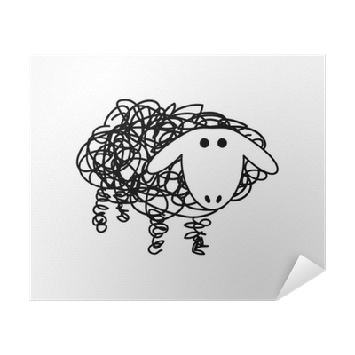 Vector Logo Sheep And Wool Poster Pixers We Live To Change