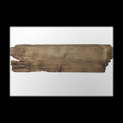 poster vieux planche de bois pixers nous vivons pour changer. Black Bedroom Furniture Sets. Home Design Ideas