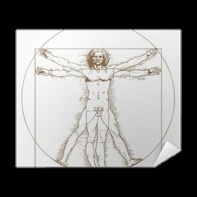 Vitruvian Man By Leonardo Da Vinci Poster Pixers We Live To Change