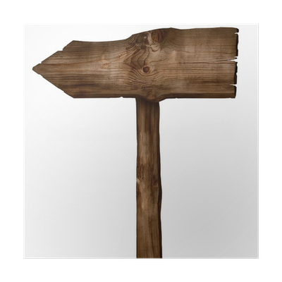 Wooden Arrow Sign Poster O PixersR We Live To Change