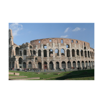 Xxl Colosseum Collage Poster Pixers We Live To Change