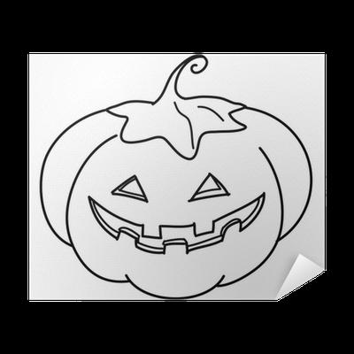 Zucca Di Halloween Da Colorare Poster Pixers We Live To Change