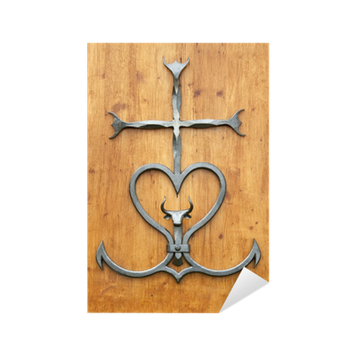 Croix camarguaise Sticker • Pixers® • We live to change f5e66c844f5
