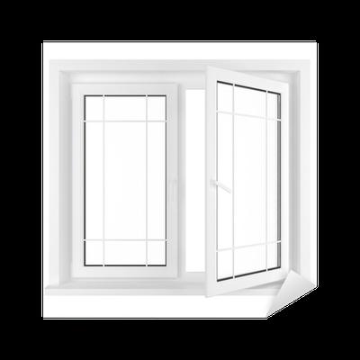 sticker demi fen tre ouverte pixers nous vivons pour changer. Black Bedroom Furniture Sets. Home Design Ideas