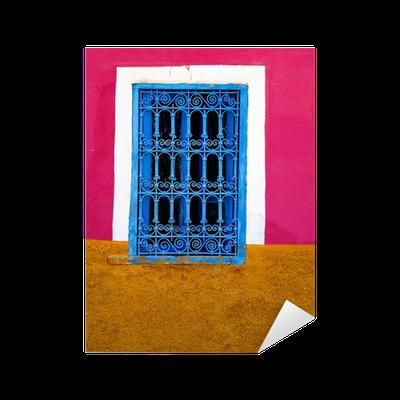 sticker fen tre marocaine pixers nous vivons pour changer. Black Bedroom Furniture Sets. Home Design Ideas