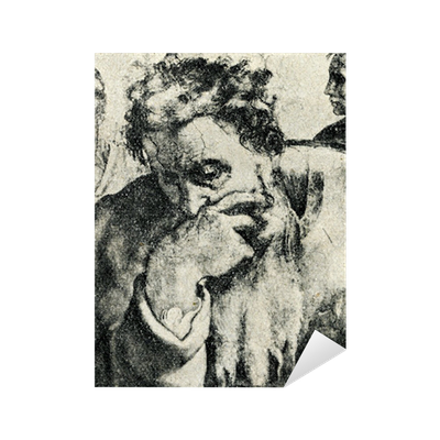 Jeremiah Michelangelo Sistine Chapel Ceiling Detail Sticker Pixers We Live To Change
