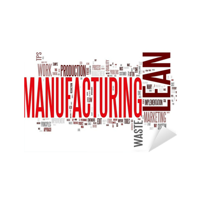 lean manufacturing stickers