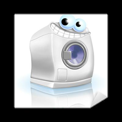 Sticker machine laver pixers nous vivons pour changer - Stickers machine a laver ...