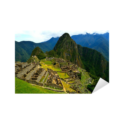 Machu Picchu Sticker Pixers 174 We Live To Change