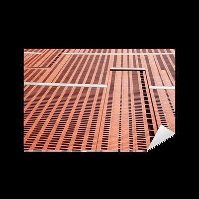 moderne steinfassade sticker pixers we live to change. Black Bedroom Furniture Sets. Home Design Ideas