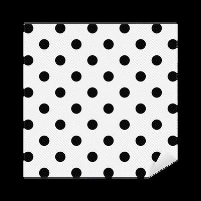 sticker noir pois sur le blanc tissu textur fond pixers nous vivons pour changer. Black Bedroom Furniture Sets. Home Design Ideas