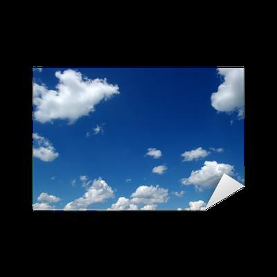 sticker nuages blancs pixers nous vivons pour changer. Black Bedroom Furniture Sets. Home Design Ideas