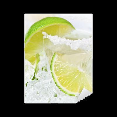 Sticker or tequila avec du sel et de chaux pixers - Desherber avec du sel ...