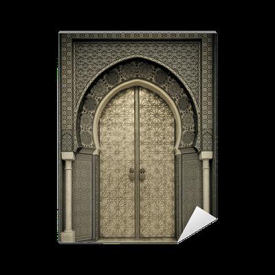 sticker portes anciennes maroc pixers nous vivons pour changer. Black Bedroom Furniture Sets. Home Design Ideas