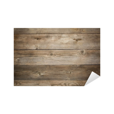 Rustic Weathered Wood Background Sticker Pixers 174 We
