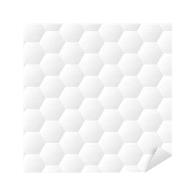 Seamless Dented Hexagons White Wall Texture Honeycomb