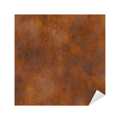 Seamless Rust Texture Sticker • Pixers® • We live to change