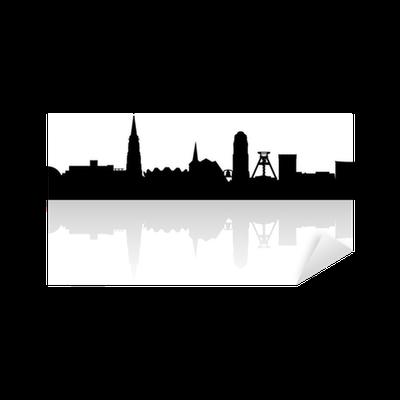 Skyline Von Bochum Sticker Pixers We Live To Change