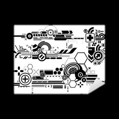 Sigma Phi Epsilon Stickers: Techno Stickers