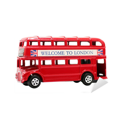 Toy Red Double Decker Bus Sticker Pixers 174 We Live