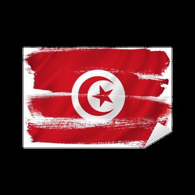 Tunisia flag Sticker • Pixers® • We live to change