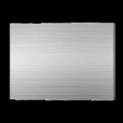 tableau sur toile aluminium bross silver plate brillant pixers nous vivons pour changer. Black Bedroom Furniture Sets. Home Design Ideas