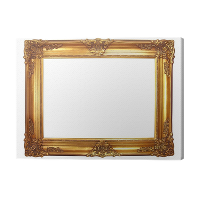 tableau sur toile cadre en bois dor ancien pixers nous vivons pour changer. Black Bedroom Furniture Sets. Home Design Ideas