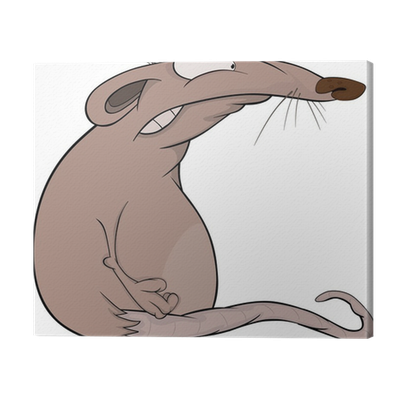 Tableau Sur Toile Maison Rat Dessin Anime Pixers Nous Vivons Pour Changer