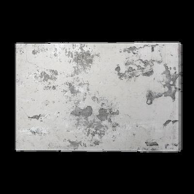 tableau sur toile vieux mur de b ton blanc avec des fissures de peinture texture de fond. Black Bedroom Furniture Sets. Home Design Ideas