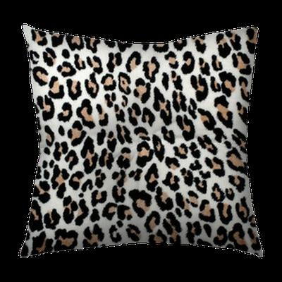 Brown And Black Leopard Pattern Fur Animal Print As