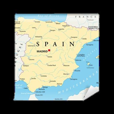 Espanja Kartta