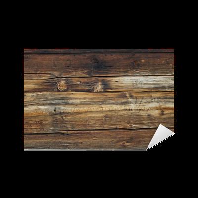 Vinilo pixerstick antiguas vigas de madera pixers vivimos para cambiar - Cambiar vigas de madera ...