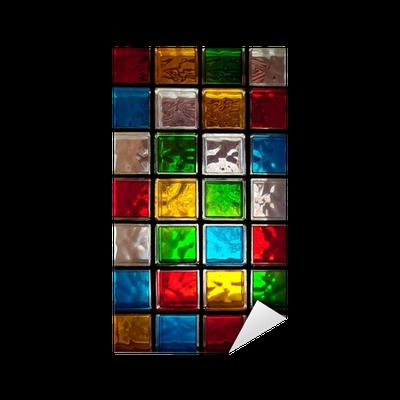 Vinilo pixerstick bloques decorativos de vidrio pixers for Bloques decorativos